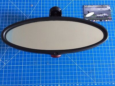 BMW E46 M3 & CSL Oval Auto-Dimming Auto Dim Rearview mirror. *REFURBISHED UNIT*