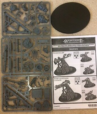 warhammer skaven plagueclaw catapult or warp lightning cannon New Age Of Sigmar