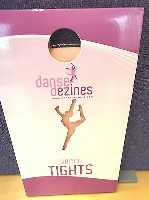 **SALE** Danse Dezines Footed (full foot) ballet dance tights