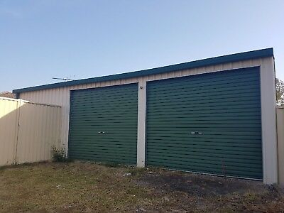 Garage Roller Doors ( x2 ) Used