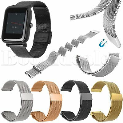 Milanese Watch Straps Wristband for Xiaomi Huami Amazfit Bip BIT PACE Lite Youth