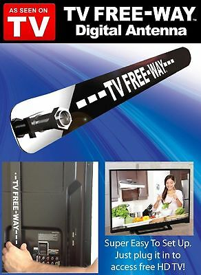 Mini Free-Way Digital Clear Signal HD Antenna Broadcast Television As Seen On TV