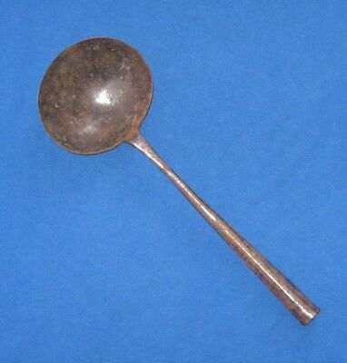 Primitive Antique Wrought Iron Spoon Ladle