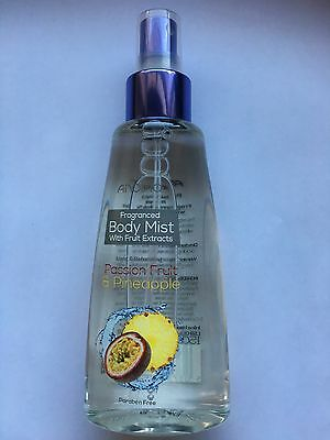 Anovia Fragranced Body Mist With Fruit Extracts Passion Fruit & Pineapple 150 Ml