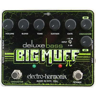 Electro Harmonix Deluxe Bass Big Muff Pi Distortion/Sustainer Guitar Pedal