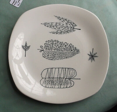Dessert Plate - Midwinter - Nature Study - Terence Conran