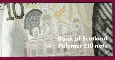 Collectors Pack - Bank Of Scotland - £10 - Polymer - Unc - Issued 10 Oct 2017