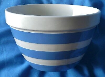 T G Green blue and white bowl.
