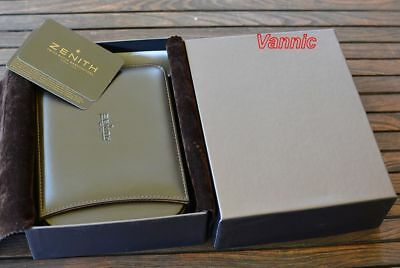ZENITH  Collector Leather watch Box -VERY Hard to find-( Brand New in Box )
