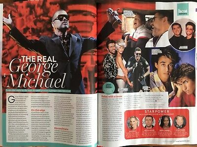Heat magazine 14 October 2017 George Michael - The Real George