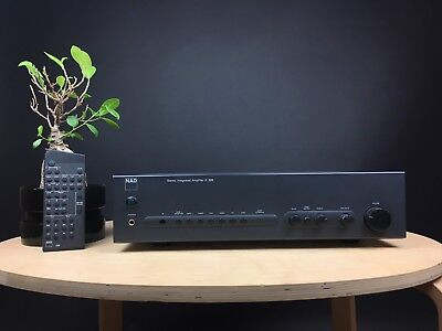 NAD C320 Integrated Amplifier Incl. Remote. 99p NR