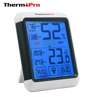 ThermoPro TP-55 Digital Hygrometer Indoor Thermometer Temperature Humidity Gauge