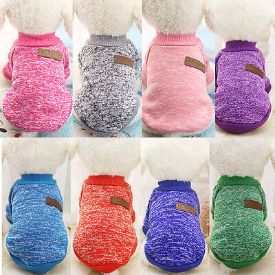 Pet Coat Dog Jacket Winter Clothes Puppy Cat Sweater Clothing Coat Apparel /ANG