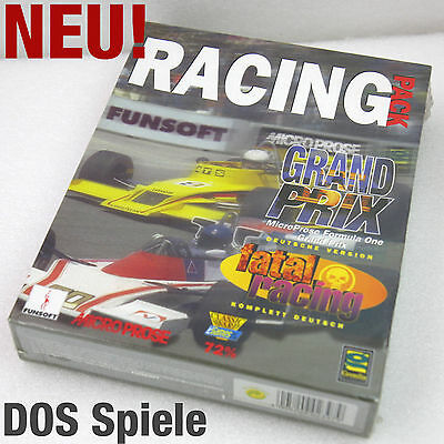 Dos Games Games Racing Pack Micro Prose Grand Prix Formula One 1 Fatal Racing
