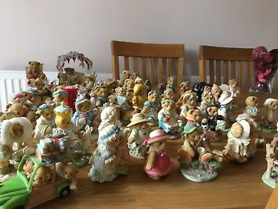 cherished teddies collection 52 in total some rare