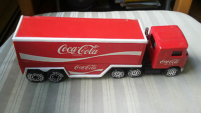 1987 Remco Coca-Cola Coke Tractor Trailer Truck missing Bottles