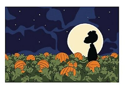 Great Pumpkin Charlie Brown Christmas Backdrop Snoopy Pumpkin Patch Decoration