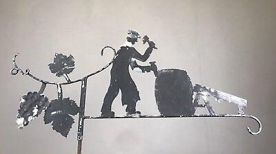 Antique French Weather Vane Topper Vineyard