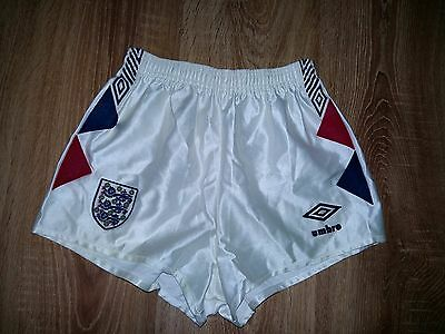 England 1984 - 1987 rare vintage home shorts size XS - S