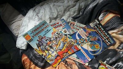 TRANSFORMERS G1 Marvel Comics