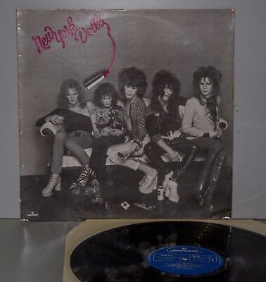 New York Dolls - New York Dllos Vinyl LP 1973
