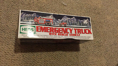 HESS Emergency Toy Truck With Rescue Vehicle