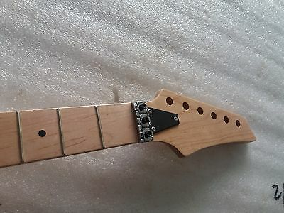 Maple 24 Fret Electric Guitar Neck Maple For IB style Replacement