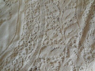 Vintage Lace Tablecloth - Ivory 74 x 60