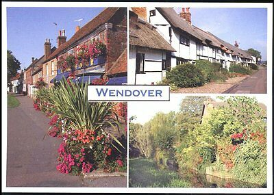 Postcard A lovely Three View card of Wendover Bucks