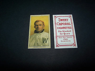 ( TY COBB )1909 T206 Sweet Caporal Tobacco Detroit Tigers Baseball Reprint Card