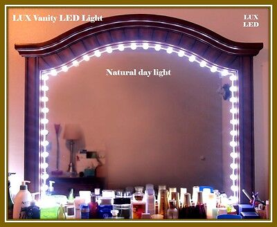 Luxled Vanity Mirror Lights Makeup Lights Anti-Glare Luxurious LED Lights (6ft)