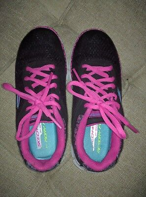 Sketchers Girls Memory Shoes Sketchers Size 12.5