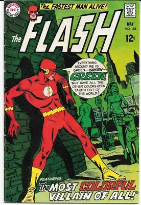 The Flash lot of 6 comics from the late 1960's Ross Andru Gil Kane