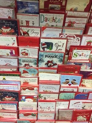 50 top family Christmas cards. wholesale joblot greeting cards