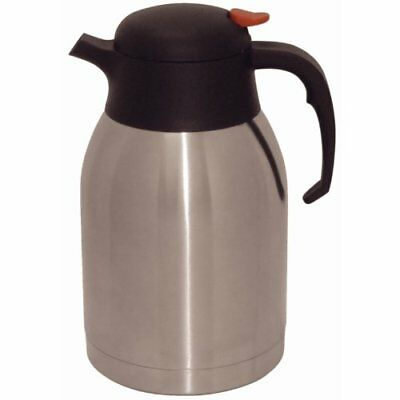 Olympia Vacuum Jug 2 L Stainless Steel Insulated Thermal Coffee Mug Cup Flask