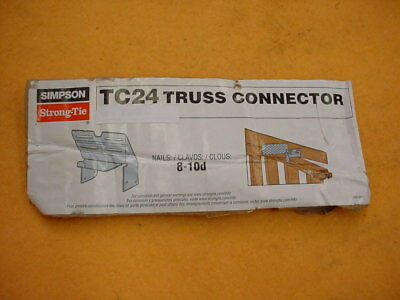 Simpson Strong Tie TC24 Truss Connectors. (pack of 15)