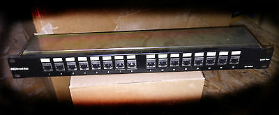 Panneau Patch 16 ports rj45 Cat5 plus