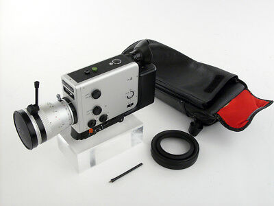 Braun Nizo PROFESSIONAL film cine MOVIE camera Super 8 mm MULTICOATING Schneider