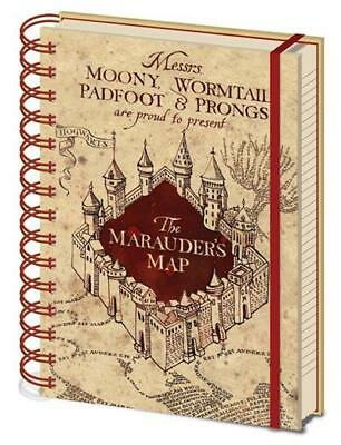 Harry Potter - Maurauders Map - Spiral Notebook