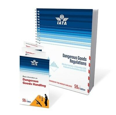 2018 59th Edition IATA Dangerous Goods Regulations - Spiral Bound - (English)