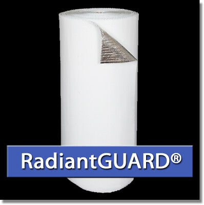 RadiantGUARD WHITE Double Bubble Concrete Insulation 500 sf (48 in by 125 ft)