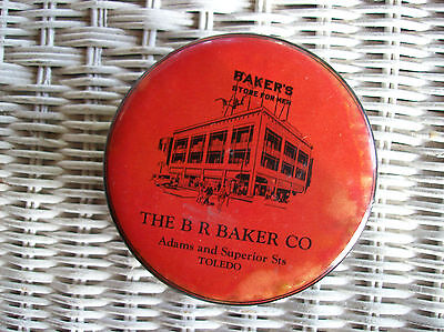 Vintage The B R Baker Co Store for Men Adams & Superior Toledo OH Clothes Brush