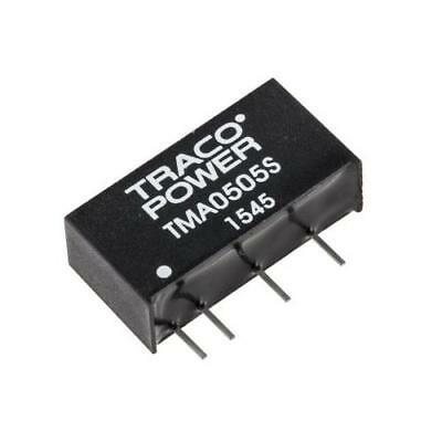 10 x TRACOPOWER Through Hole 1W Isolated DC-DC Converter, Vin 4.5-5.5V dc