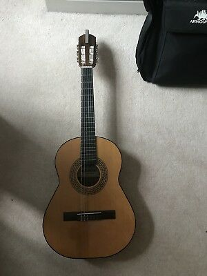 Children's Classical Guitar, Admira with black armourdillo carry case