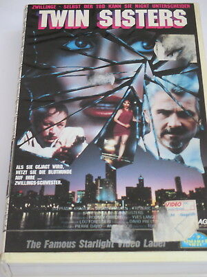 Starlight Video 22474 - Twin Sisters - VHS/Erotik-Thriller/James Brolin/Hartbox