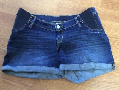 Liz lange maternity for/para target MIDI size small shorts jeans side panel