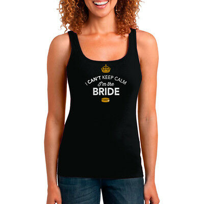 Bride Tank Top Tshirt T shirt Bridal Gift Present Hen Do Wedding Party