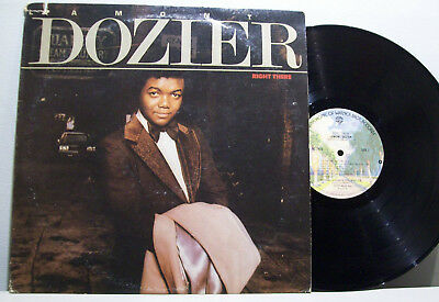 LAMONT DOZIER - right there LP SOUL motown '70s FUNK warners USA ORIG