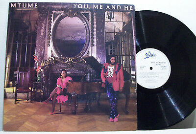 MTUME - you, me and he LP SOUL breaks '80s BOOGIE synth FUNK samples UK ORIG