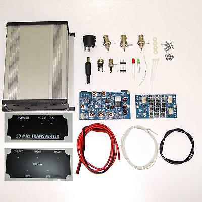 50 to 28 MHz TRANSVERTER KIT 6meters 6m 50mhz VHF UHF Ham Radio DX